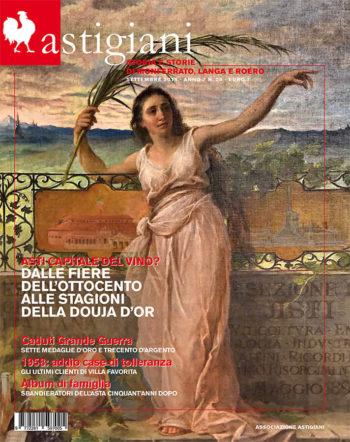 copertina rivista astigiani settembre 2018