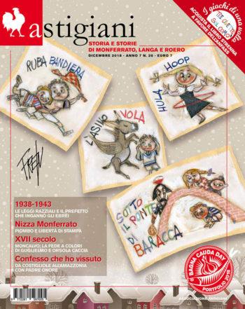copertina rivista astigiani dicembre 2018
